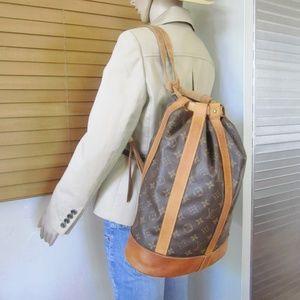 Louis Vuitton Randonnee Backpack Shoulder Bag